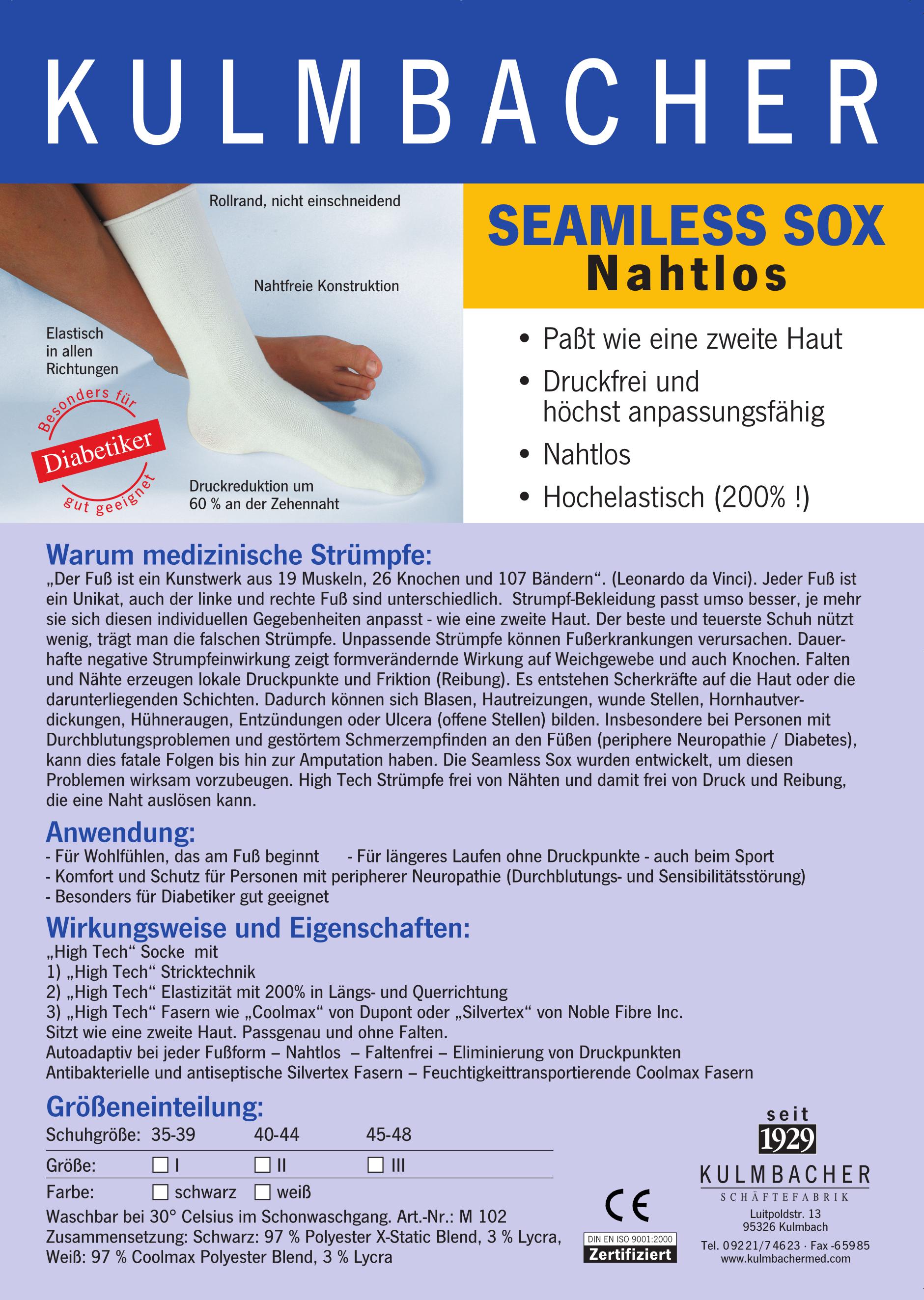 Seamless Sox Prospekt