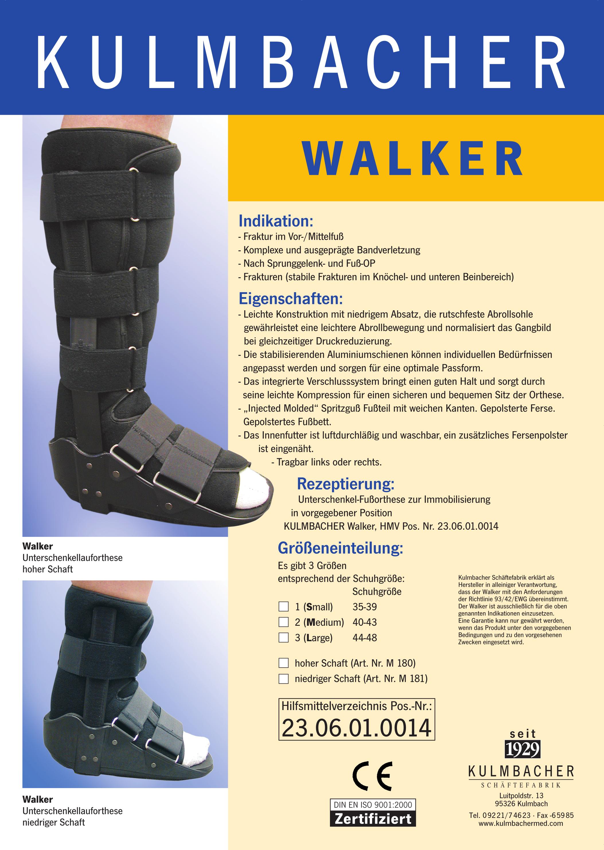 WALKER Prospekt