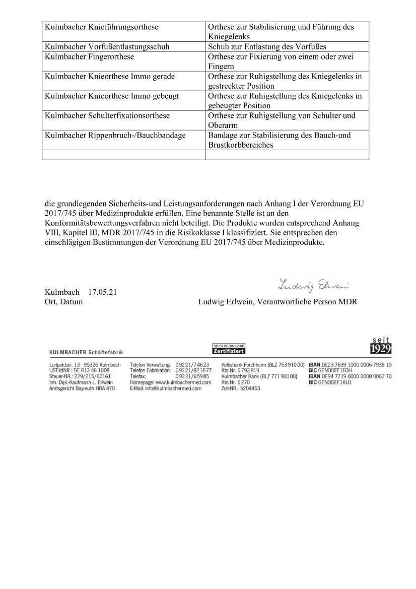 Konformitätserklärung MDR Bandagen Orthesen Schuhe_2
